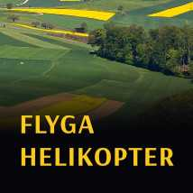 flyga helikopter malmö